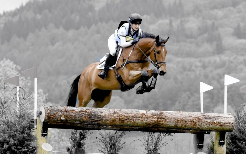 Equestrian Events Photographer Derby - Action Shot - Chatsworth House