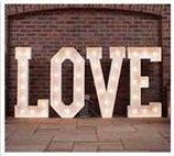 Love Letter Hire for Weddings in Derby